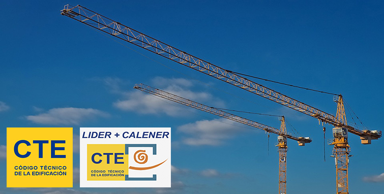 Actualización de documentos del Código Técnico de la Edificación (CTE) y nueva versión de LIDER-CALENER (HULC)