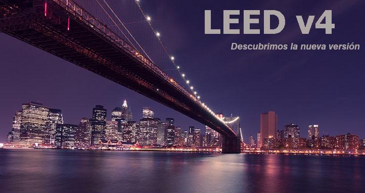 Comparación por categorías entre las dos últimas versiones LEED 2009 y v4